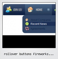 Rollover Buttons Fireworks Template
