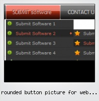 Rounded Button Picture For Web Pages