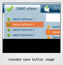 Rounded Save Button Image