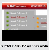 Rounded Submit Button Transparent