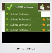 Script Menus