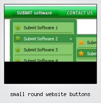 Small Round Website Buttons