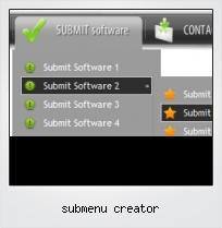 Submenu Creator