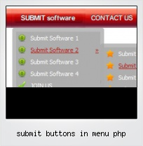 Submit Buttons In Menu Php