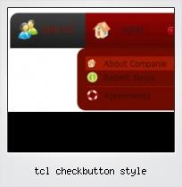 Tcl Checkbutton Style
