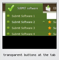 Transparent Buttons At The Tab