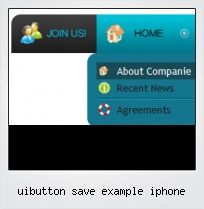 Uibutton Save Example Iphone