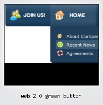 Web 2 0 Green Button