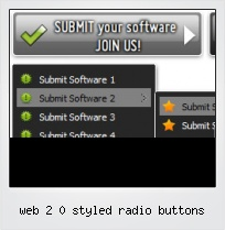 Web 2 0 Styled Radio Buttons