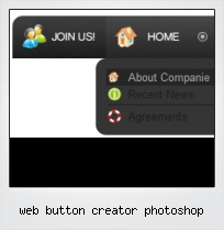 Web Button Creator Photoshop