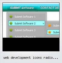 Web Development Icons Radio Button Get