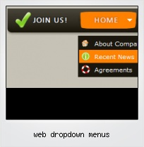Web Dropdown Menus