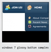 Windows 7 Glossy Button Samples