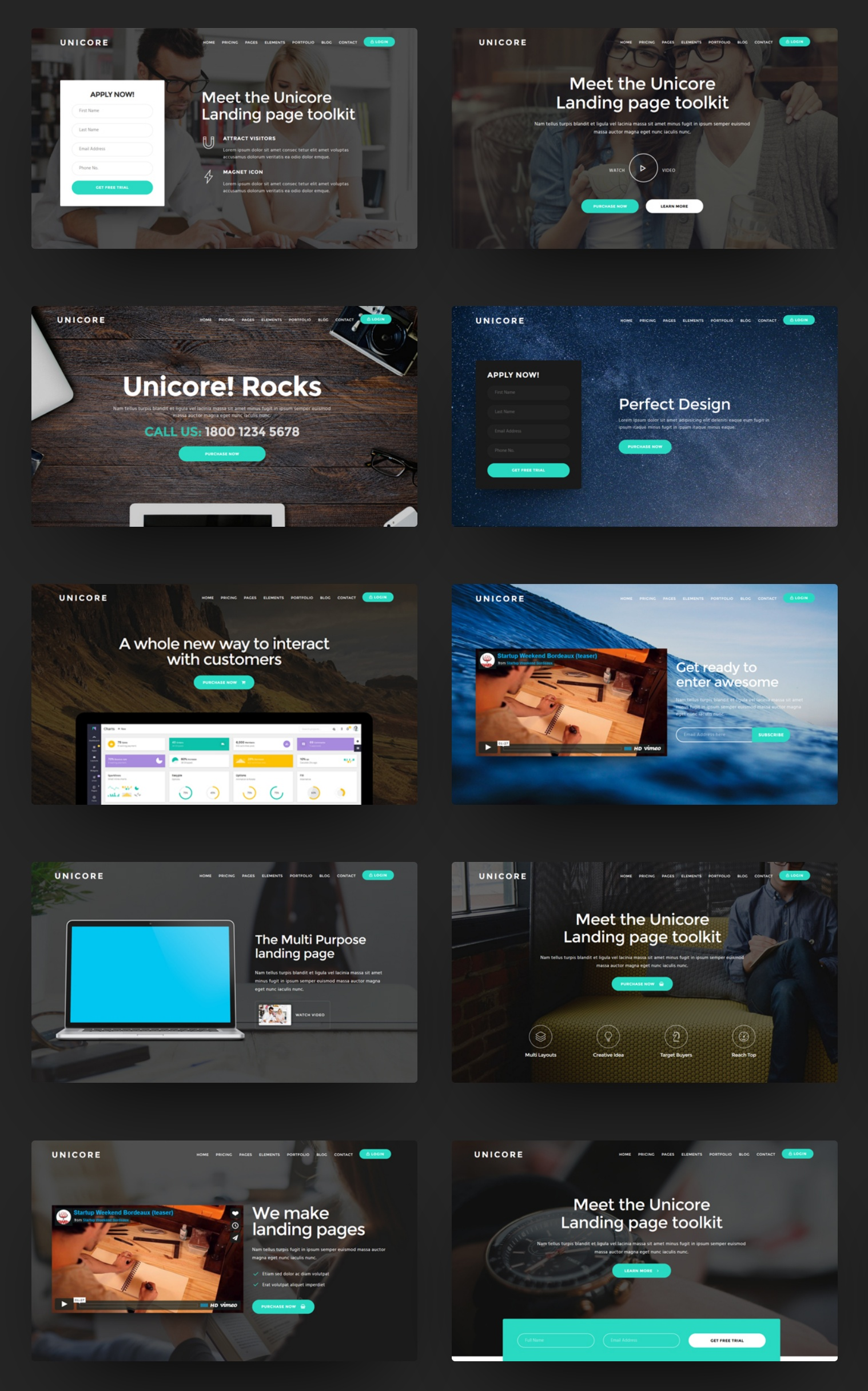 Best Bootstrap Landing Page Theme