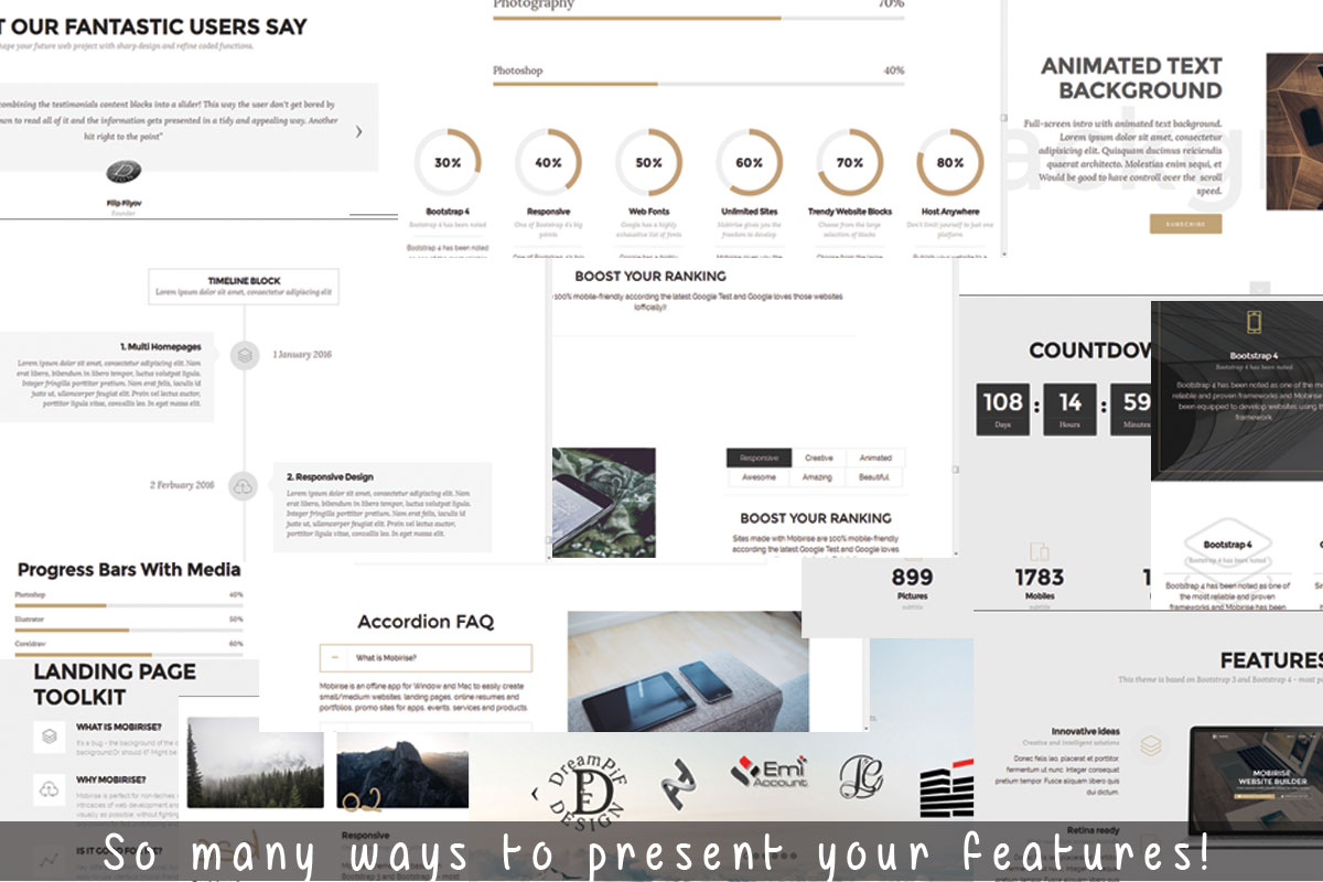 Simple Responsive Web Page Maker Software