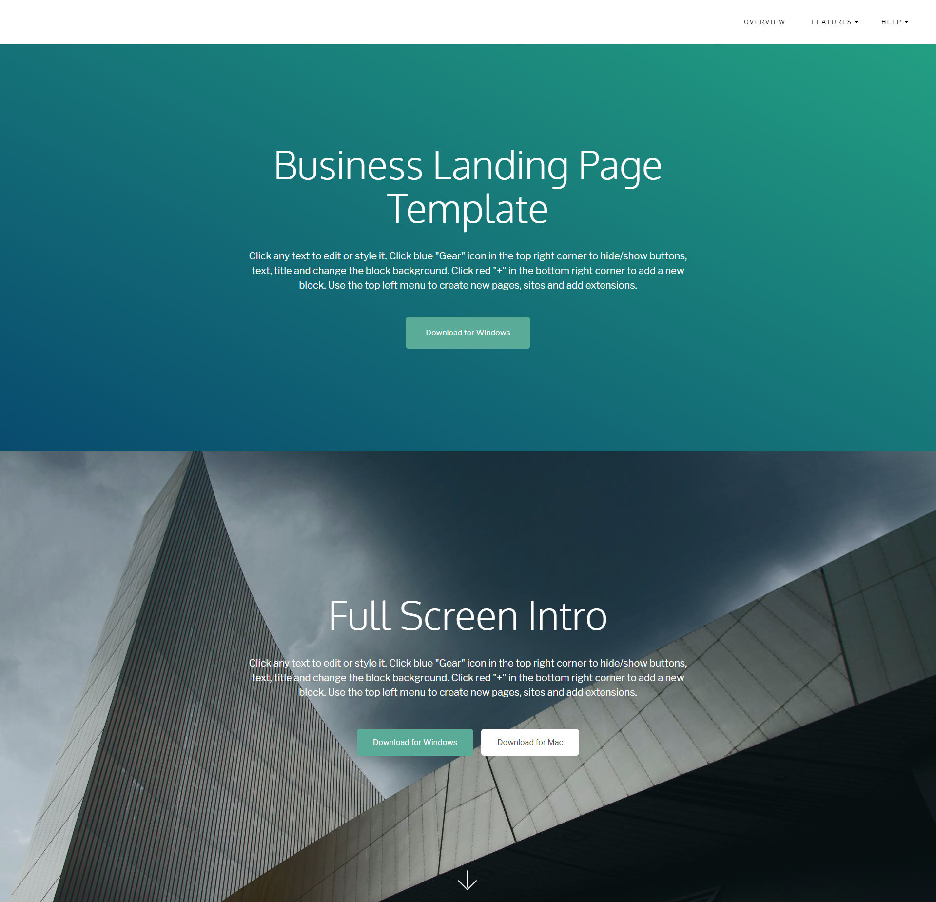 Free Download Bootstrap DirectM Themes