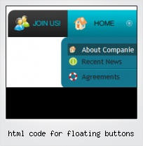 Html Code For Floating Buttons