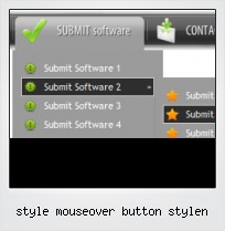 Style Mouseover Button Stylen