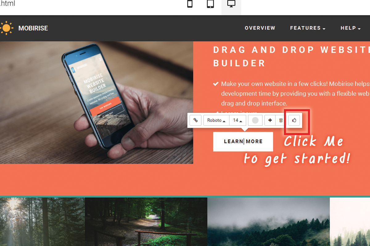 Simple HTML5 Web Development Software