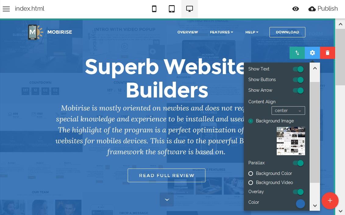 HTML Site Editor