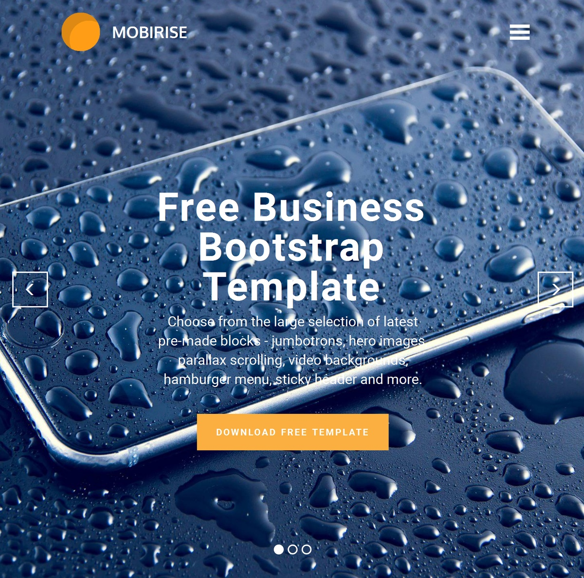 HTML Responsive Site Templates Themes Extensions