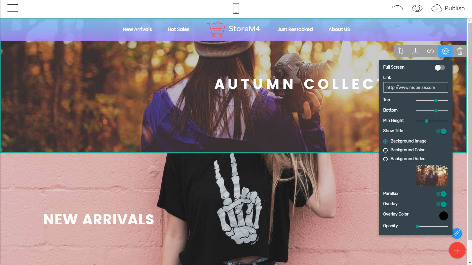 mobile-friendly website themes