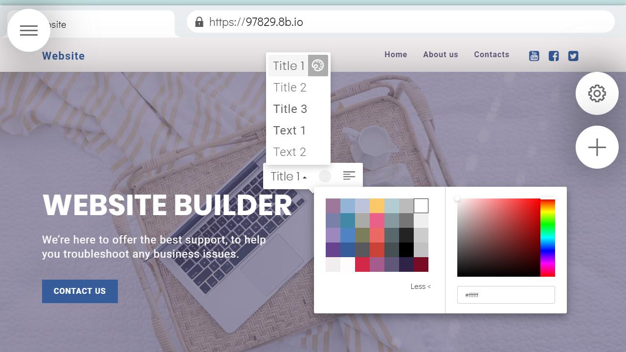 Website Development Software