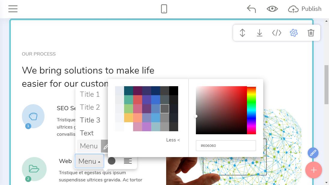 HTML Web Page Creator