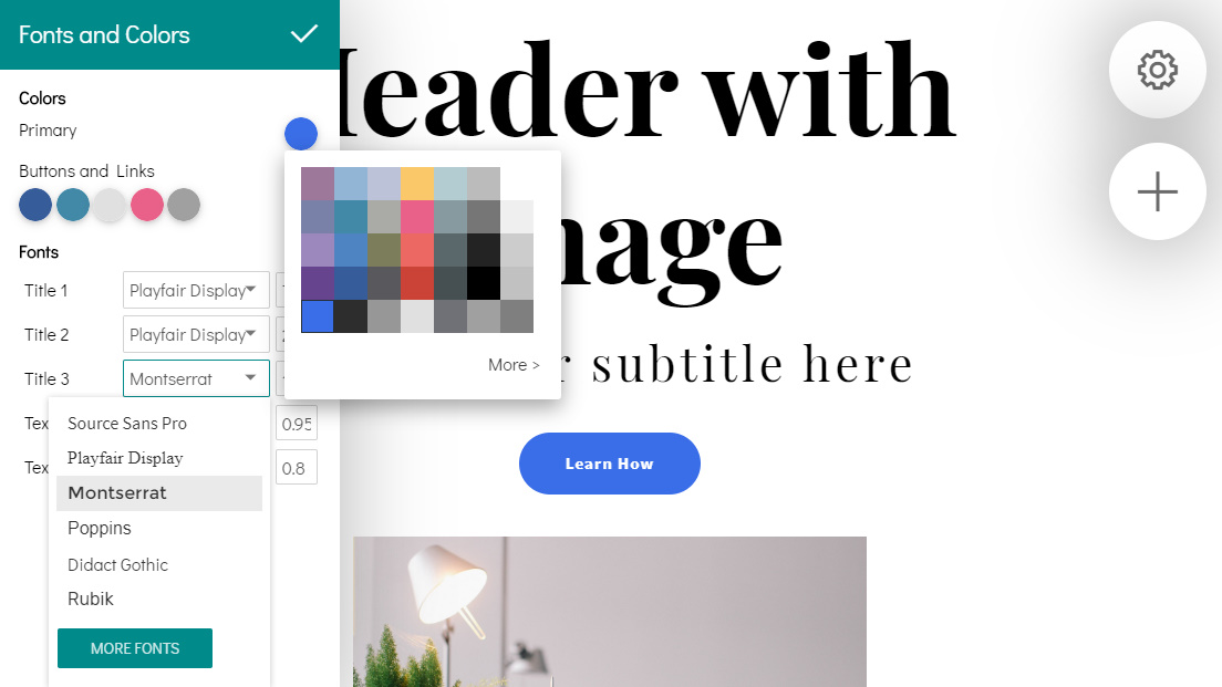 Drag and Drop Web Page Maker